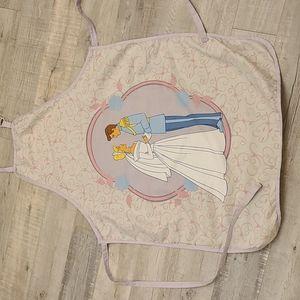 DISNEY Cinderella & Prince Charming Apron